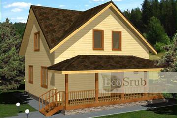 Дом из бруса 10x9 Д-7