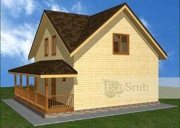 Планировка дома из бруса: оптимизация пространства