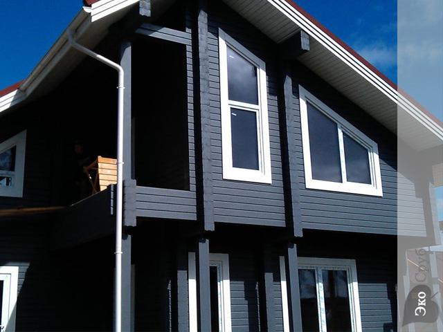 Покраска фасада дома краскопультом видео
