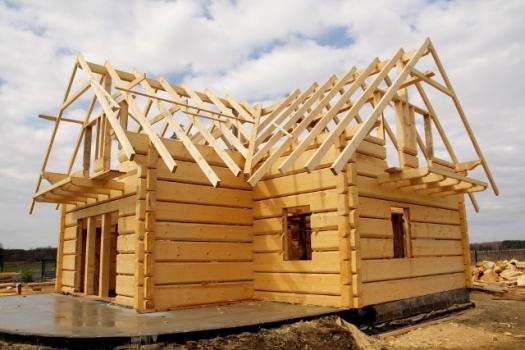 как построить дом из бруса своими руками