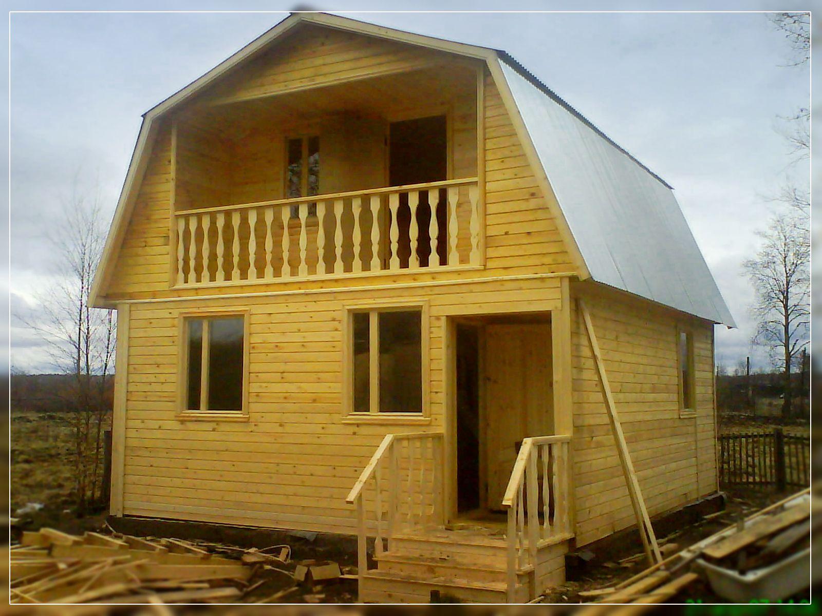 Проекты домов, загородных коттеджей, дач в Перми