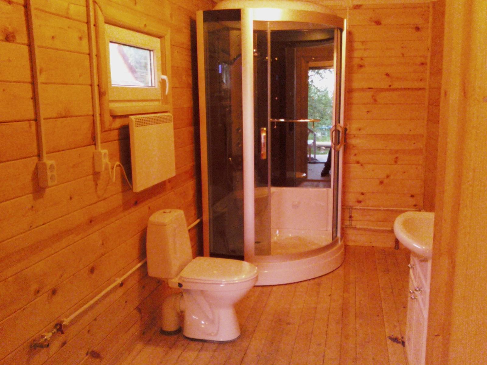 Как в доме сделать туалет