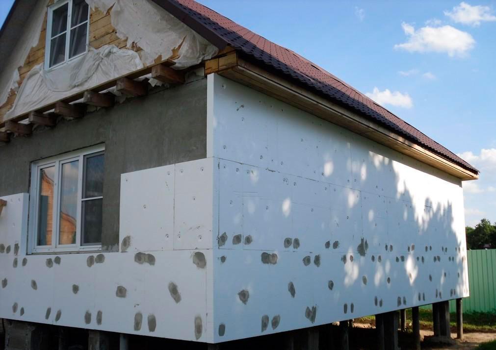 картинки фасада дома пенопласт можно