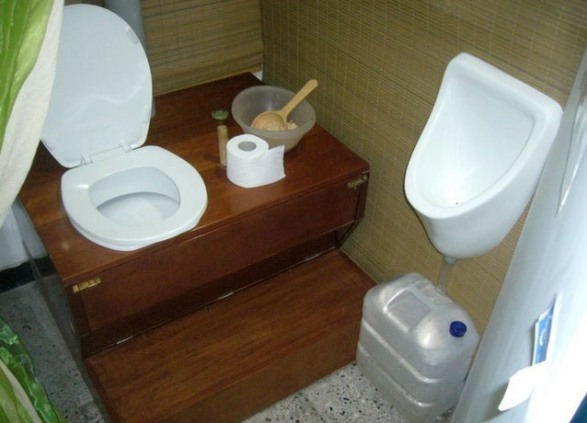 как делать часни дом туалет видео спрашиваю